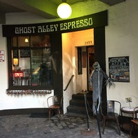 Photo taken at Ghost Alley Espresso by jennifer on 9/21/2016
