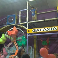 Photo taken at Galaxia Kids by Eduardo B. on 1/26/2013