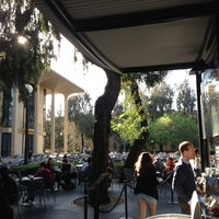 Photo taken at Coupa Café at Green Library by Josh W. on 3/22/2013