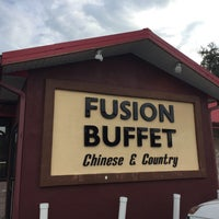 Photo taken at Fusion Buffet by Elaine C. on 7/5/2017