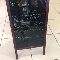 Photo taken at Fusion Buffet by Elaine C. on 8/2/2017