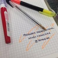 Photo taken at Facultad De Economia Y Administracion by Francisco S. on 2/22/2014