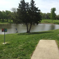 Photo taken at Jones Park Disc Golf Course by Ryan G. on 4/27/2015