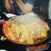 Photo taken at Honey Pig Gooldaegee Korean Grill by Jack P. on 10/24/2012