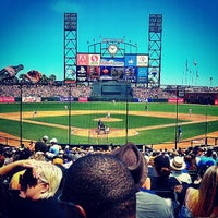 Photo taken at AT&T Park by Jeanne H. on 7/28/2013