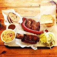 Photo taken at John Mueller Meat Company by Alissa S. on 5/12/2013