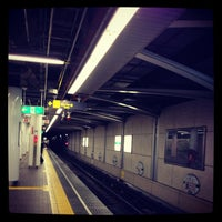 Photo taken at Cosmosquare Station by Mrock D. on 10/23/2012