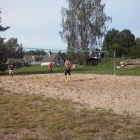 Photo taken at Bērzciema volley laukums by Emīls N. on 7/6/2014