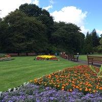 Photo taken at Glasgow Botanic Gardens by Osama M. on 8/9/2014