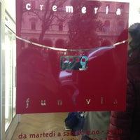 Photo taken at Cremeria Funivia by Emanuela Z. on 3/23/2013