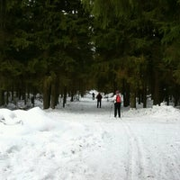 """Photo taken at Лыжня """"Некрасовская - Габо"""", 13 км by Oleg G. on 2/19/2017"""