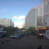 Photo taken at Михневская улица by Oleg G. on 4/23/2016