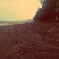 Photo taken at Ambalat Beach by Rizky D. on 10/12/2013
