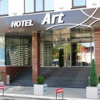 Foto scattata a Art Hotel da Art Hotel il 12/17/2013
