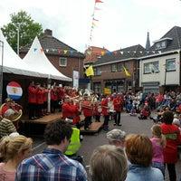 Photo taken at Markt Groenlo by Martijn S. on 5/9/2013