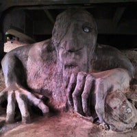Photo taken at The Fremont Troll by Katoya P. on 10/31/2012