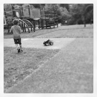 Photo taken at Sam Smith Park Playground by Katoya P. on 6/18/2013