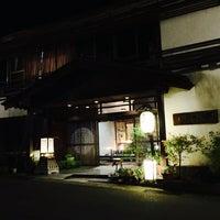 Photo taken at 元祖うなぎ湯の宿ゆさや by Rockcatttt on 11/6/2015