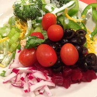 Photo taken at Sweet Tomatoes by Oksana M. on 1/25/2014
