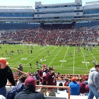 Photo taken at Lane Stadium/Worsham Field by Rick on 4/20/2013