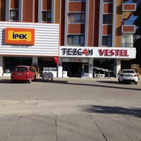 Photo taken at VESTEL TEZCAN MOBİLYA by ERCAN T. on 1/25/2014