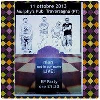 Photo taken at Murphy's Pub by Davide on 10/4/2013