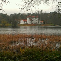 Photo taken at Jagdschloss Grunewald by Jeannette H. on 11/24/2013