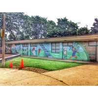 Photo taken at Mozart Park by Stephanie . on 8/24/2014