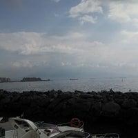 Photo taken at Molo di Sopraflutto Sannazzaro (Molo Luise) | Porto di Napoli by @thedivatina on 9/27/2013