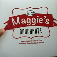 Photo taken at Maggie's Donuts by Don V. on 3/9/2013