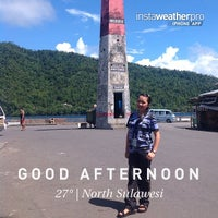 Photo taken at Tahuna, Sulawesi Utara by As A. on 5/21/2014