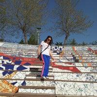 4/23/2014 tarihinde Pınar✌ ☆.ziyaretçi tarafından Çağdaş Seramik Parkı ve Açık Hava Müzesi'de çekilen fotoğraf