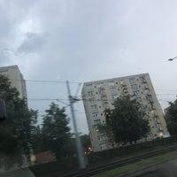 Photo taken at Przymorze by Miazga E. on 7/10/2017
