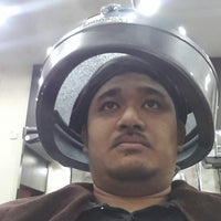 Photo taken at Yun Nam Hair Care, The Mines by el guapo l. on 10/22/2013