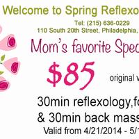Photo taken at Spring Reflexology Center by Spring Reflexology Center on 4/29/2014