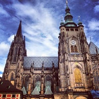 Photo taken at Prague Castle by Arzhna L. on 9/22/2013