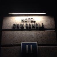 Photo taken at Hotel Onix Rambla by Hitomi I. on 11/12/2013