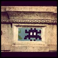 Photo prise au Space Invader - Pixel Art par Marco H. le5/1/2012