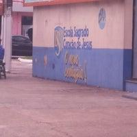 Photo taken at Escola Sagrado Coração de Jesus - SMIC by Ronaldo A. on 8/29/2016