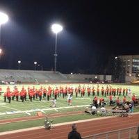 Photo taken at Robinson Stadium by Lisa G. on 11/10/2013
