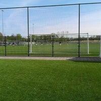 Photo taken at Bijlmer Sportpark by Naomi on 4/12/2014