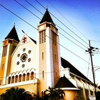 Photo taken at Gereja Katolik Katedral Santa Perawan Maria Dari Gunung Karmel by Benedicta V. on 7/6/2013