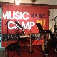 Photo taken at 뮤직캠프 빈 by 박동일 (카페고등어) 대. on 6/5/2014