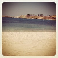 Photo taken at Porto Koundouros Beach by Stavrina .. on 8/7/2013