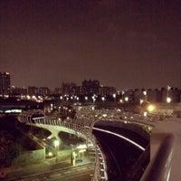 Photo taken at 前鎮之星自行車橋 by Johann T. on 3/5/2014