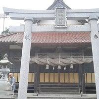 Photo taken at 三嶋神社 by 上崎 祥. on 8/14/2014