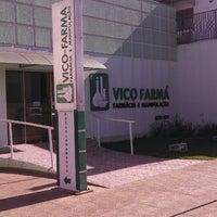 Photo taken at Vico-Farma Farmácia e Manipulação by Junior S. on 8/7/2013