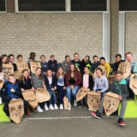 Photo taken at St Lodewijkschool by Svetlana R. on 4/27/2018