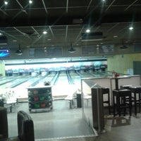 Photo taken at Bowling Themis by Justin D. on 12/23/2015