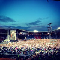 Photo taken at Hampden Park by Mike M. on 6/19/2013